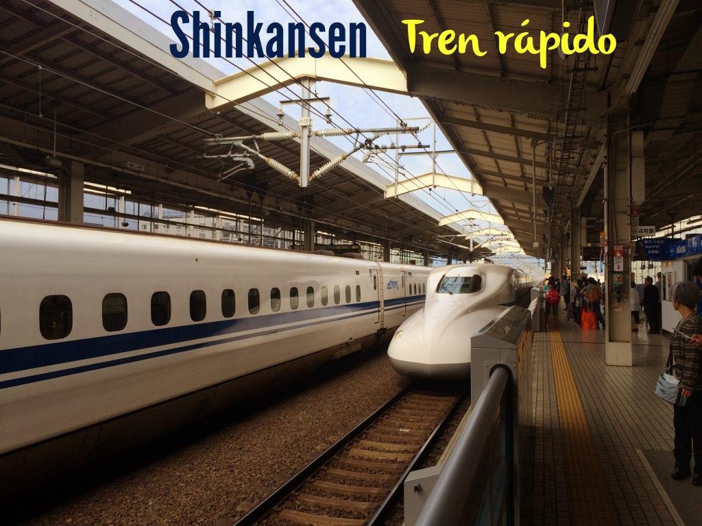 Shinkansen Este tren llega a los 320 kms por hora