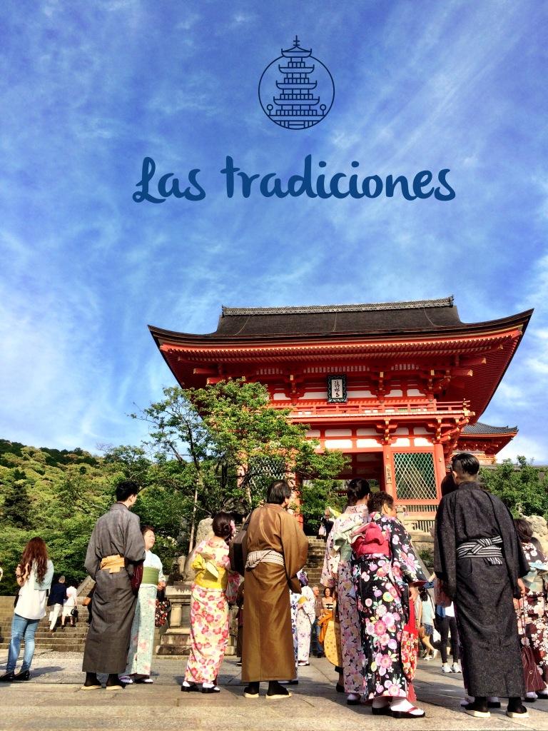 Una mañana de domingo en el templo de Kiyomizu en Kyoto